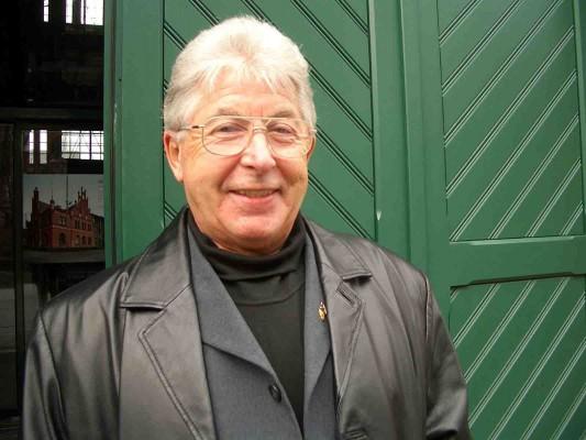 Horst Höfer berichtet über die Arbeit mit Grubenpferden. Foto: LWL