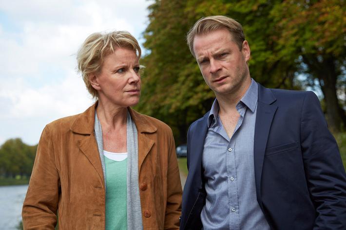 Marie Brand (Mariele Millowitsch), Jürgen Simmel (Hinnerk Schönemann)  Foto:  ZDF/Guido